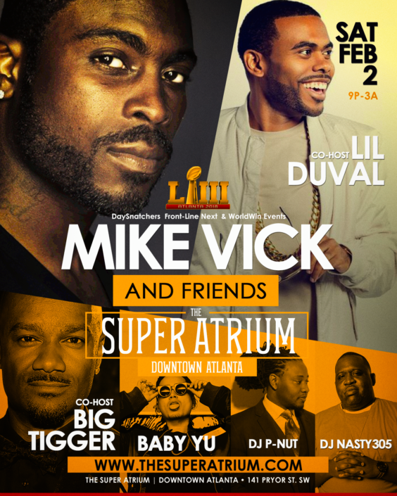 ATL - Mike Vick & Friends @ The Super Atrium