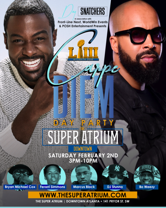 ATL - CARPE' Diem - Day Party @ The Super Atrium